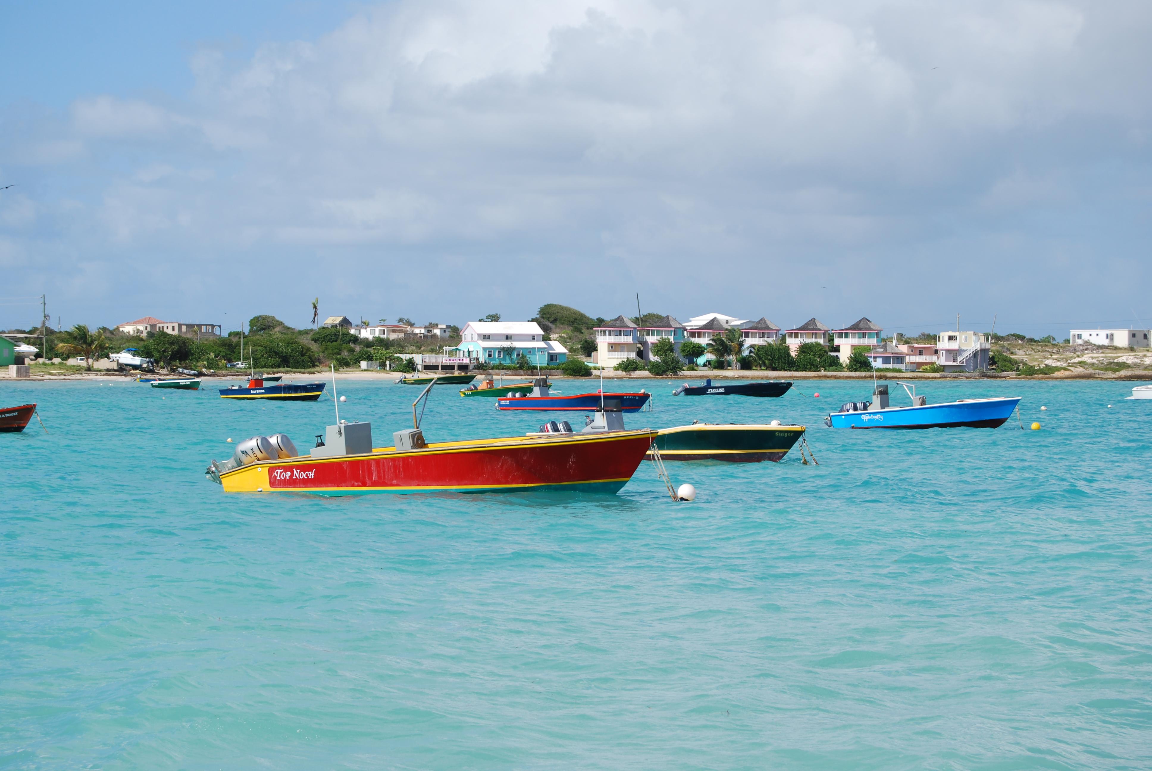 anguilla island harbour