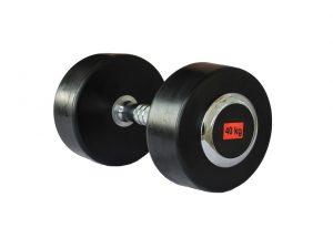 gantera-cauciucata-deluxe-sportmann-40-kg
