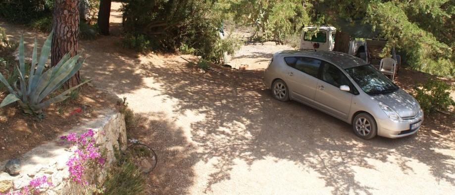 parcare la umbra