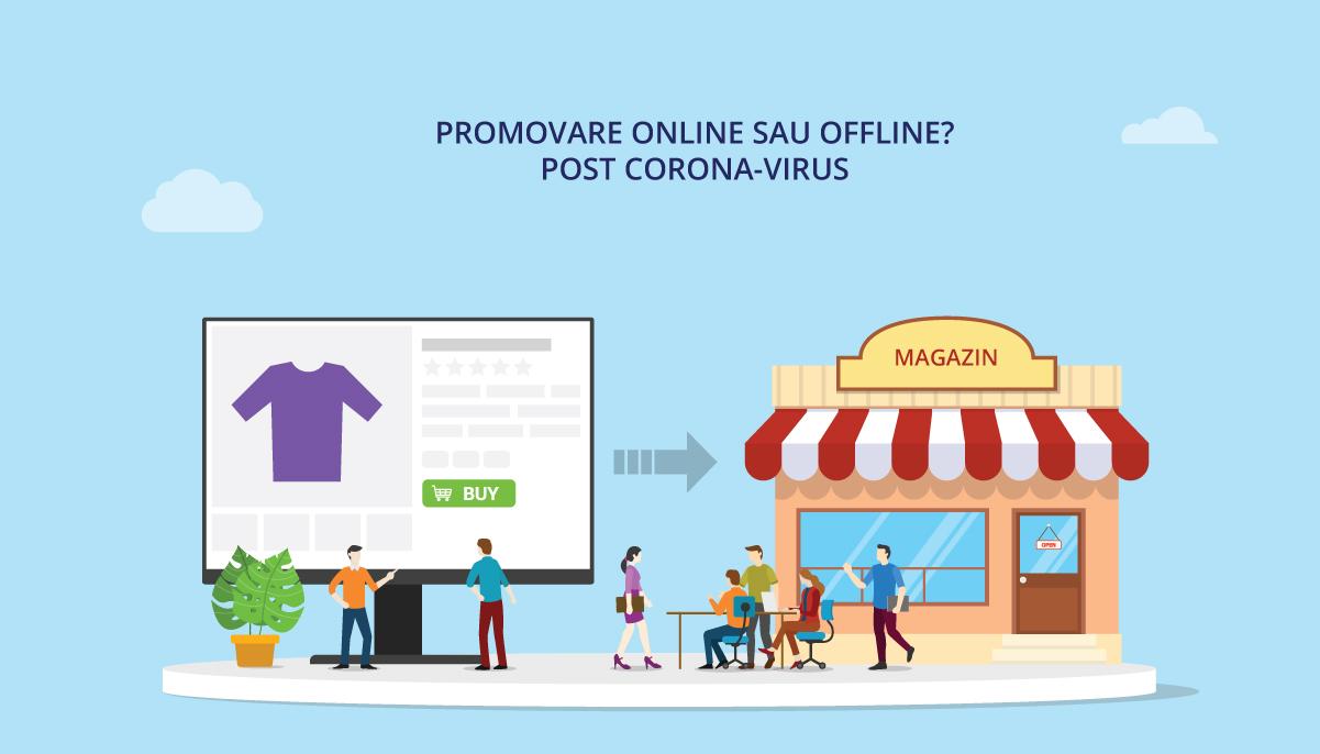 Promovare-onlne-vs-offline